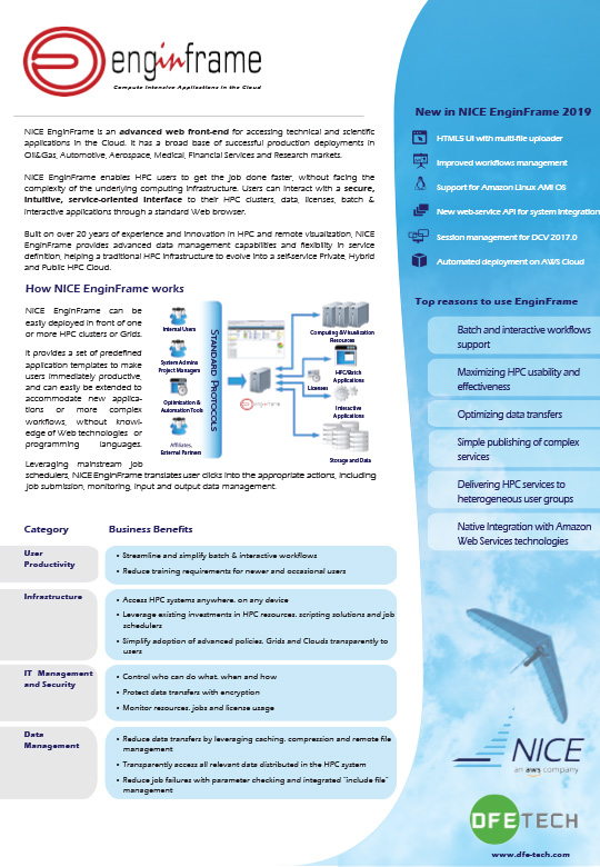 Flyer NICE Enginframe